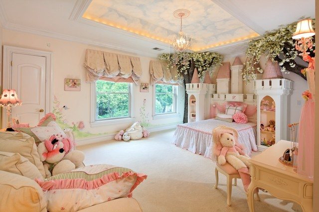 Princess Room : Princess Bedroom - Eclectic - Kids - dc metro - by Dahlia Design