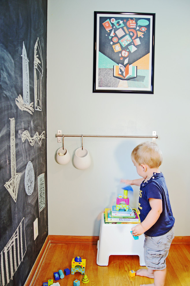 Eclectic playroom photo in Minneapolis