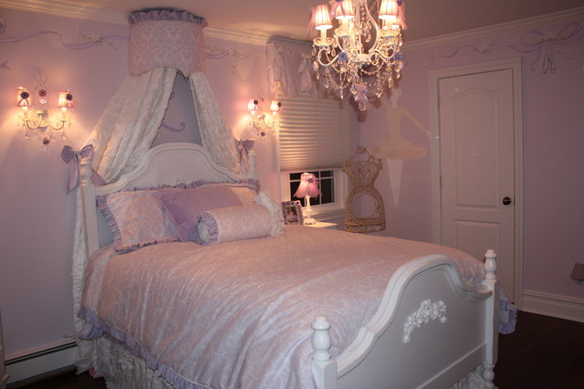 Elegant Ballerina Room Traditional Kids