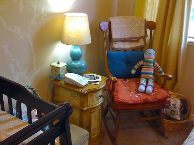 Elliott's Rocking Chair eclectic-kids
