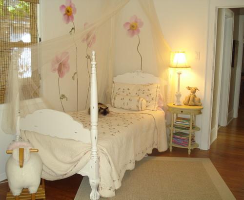 цветы в дизайне комнаты для девочки подростка фото