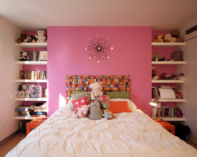 Ewan Residence Girls Bedroom modern bedroom