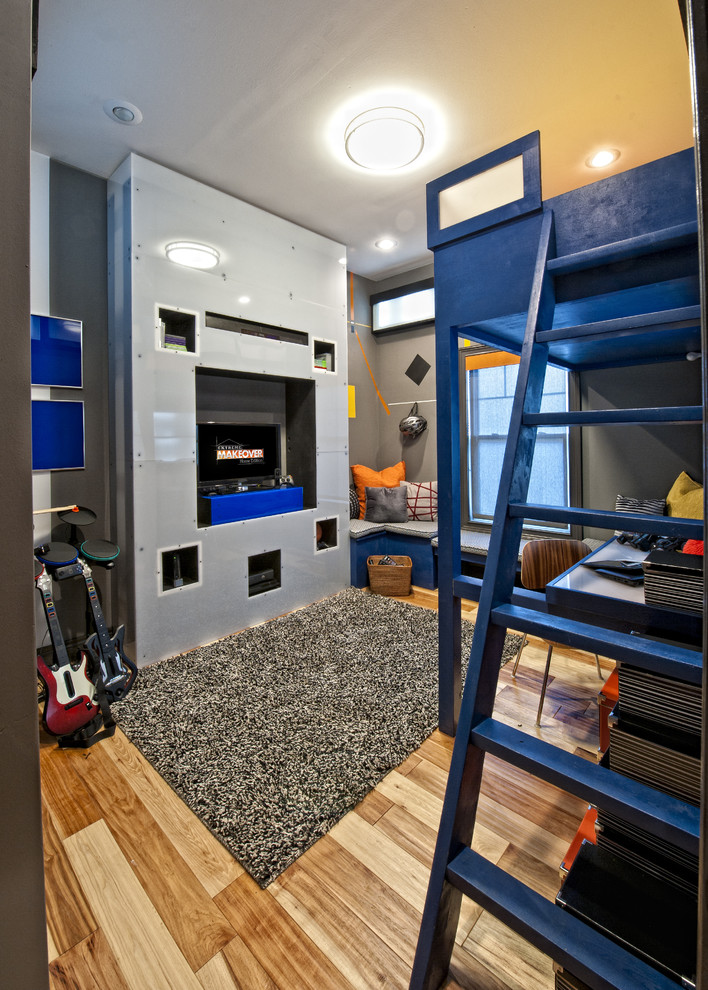 Inspiration for an eclectic kids' bedroom remodel in Other