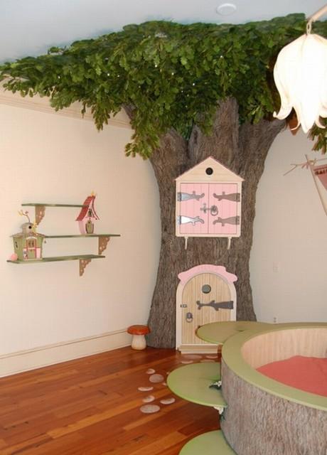 fairy disney kids room eclectic-kids