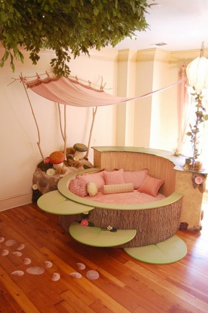 fairy disney kids room eclectic-kids
