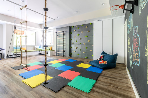 Play room in Custom Home in Rochester NY