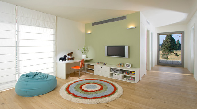 family room contemporary kids