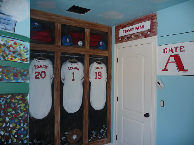 Fenway park boston red sox for Boston red sox bedroom ideas