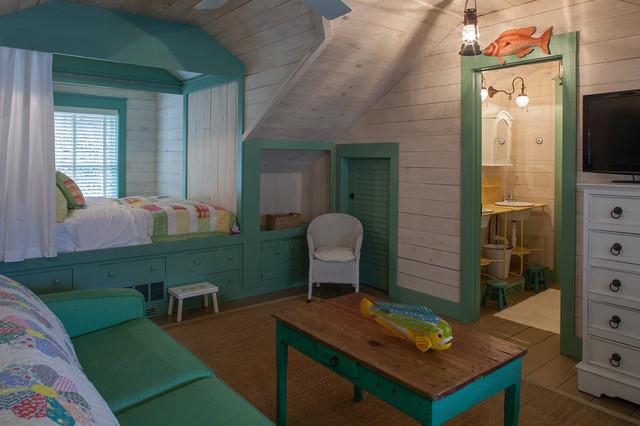 Fish Camp Beach Cottage beach-style-kids