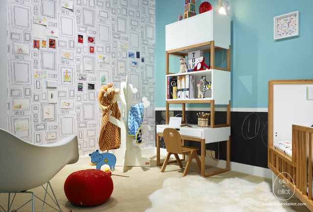 Inspiration for a modern kids' room remodel in Toronto