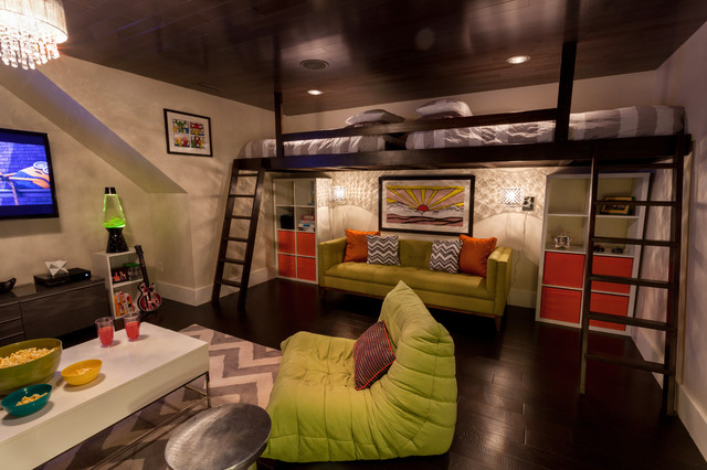 Fun Playroom Contemporary Kids Indianapolis By