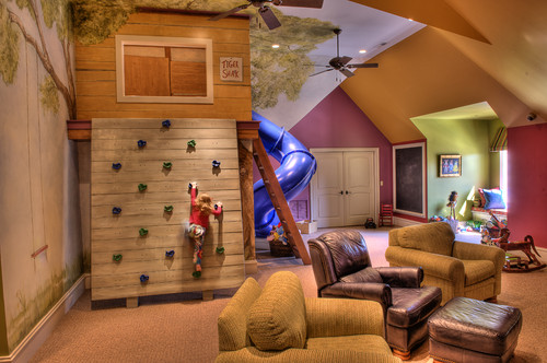eclectic kids 7 Awesome Playrooms