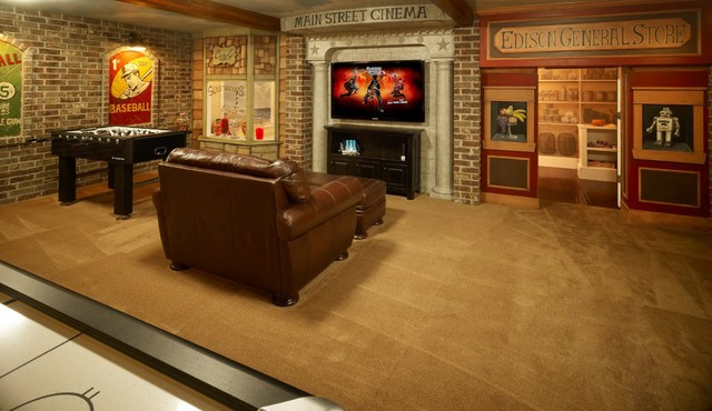 Game Room - Traditional - Kids - Salt Lake City - by JCD Custom Home ...