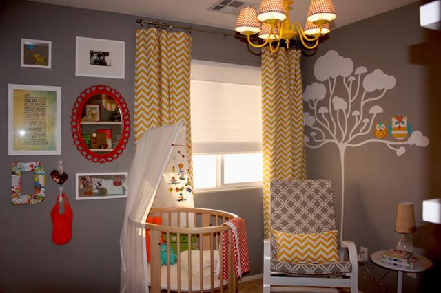 Yellow Chevron Nursery Curtains - Best Curtains 2017