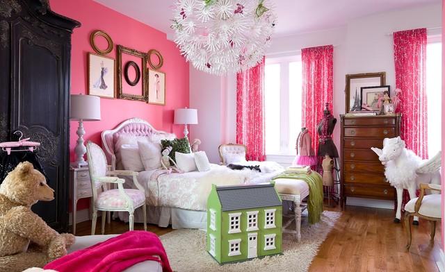 Girl's Bedroom eclectic-kids