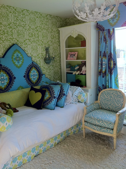 Girl's Bedroom eclectic-kids
