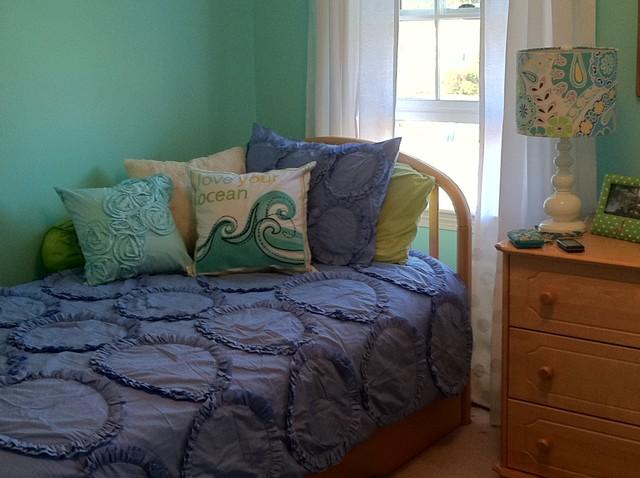 Girl's Bedroom Re-do traditional-kids