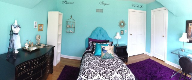 girl 39 s french paris themed bedroom