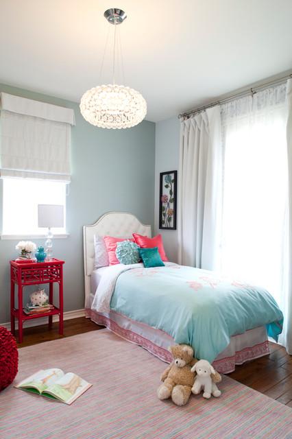 Girl's Nursery / Bedroom transitional-kids