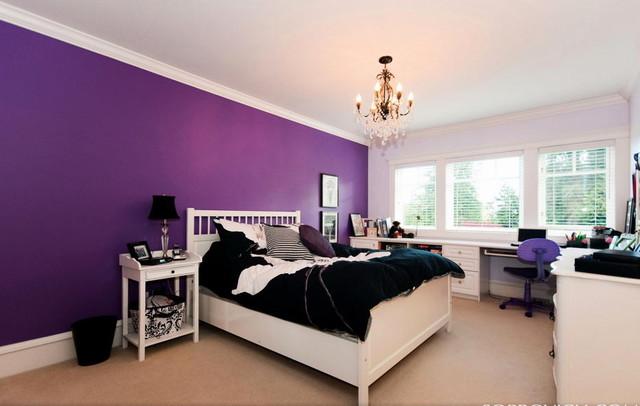 Girl's Purple Paradise contemporary-kids