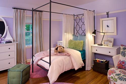 pretty teen purple room