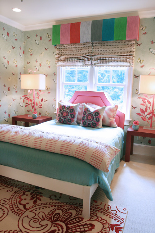 Bedroom design using pink in a grown up bedroom charles for Grown up bedroom designs