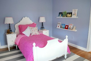 Girl Toddler Bedroom modern-kids