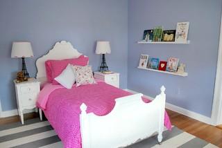 Girl Toddler Bedroom modern-kids