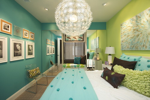 High Quality Accent Wall Color Ideas For This Turquoise Color Thats In My Living Room Part 25