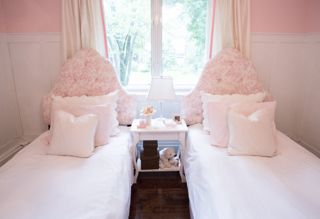 Girls Bedroom Traditional Kids Montreal By Lux Decor