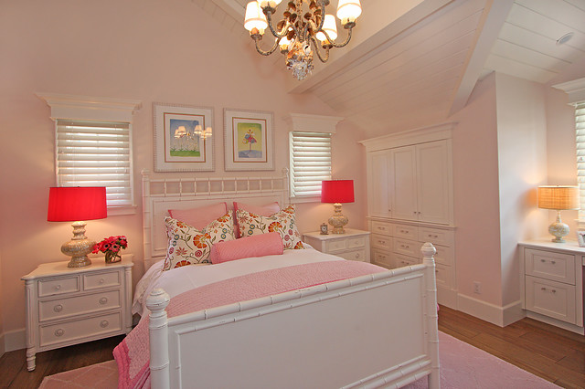 Girls bedroom contemporary kids