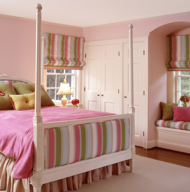 Girls bedroom traditional kids - Photos of girls bedroom ...