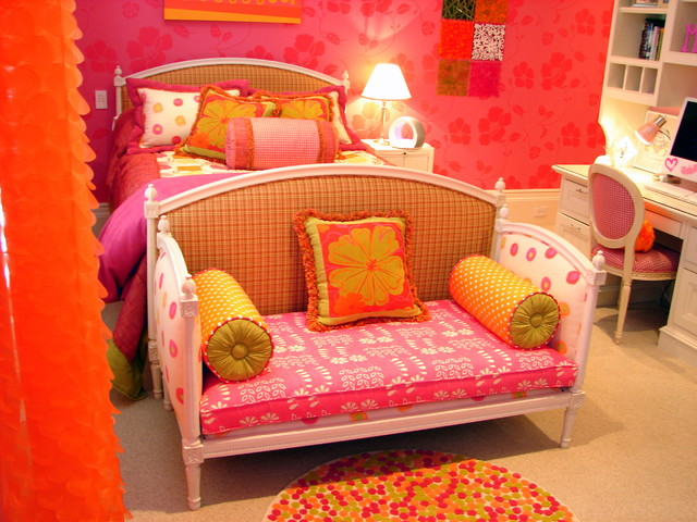 Girls custom bedroom traditional kids salt lake city by denise glenn interior design for Bedroom furniture salt lake city