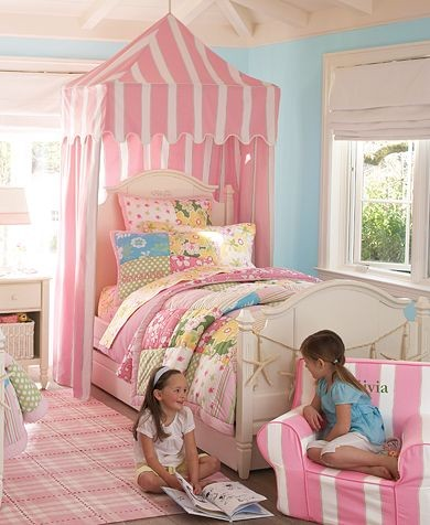 Girls' Key West Bedroom | Pottery Barn Kids traditional-kids