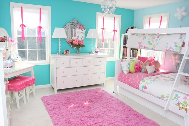 Girls room contemporary kids boston - Girls bed room ...