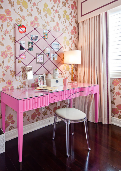 Girls Room contemporary kids