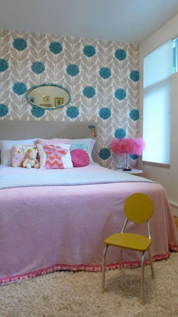 Girls Room contemporary-kids