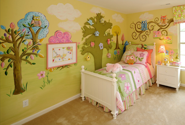 Girls 39 rooms traditional kids raleigh by anita for Rooms to go kids raleigh