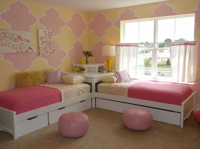 Girls 39 Rooms Modern Kids Other By Anita Roll Murals