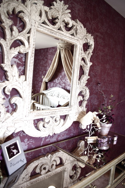 Glamorous Baby's Room traditional-kids