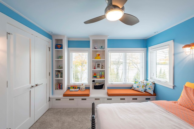 Great Sunset Point Remodeling - Traditional - Kids - Minneapolis - by Albertsson Hansen ...
