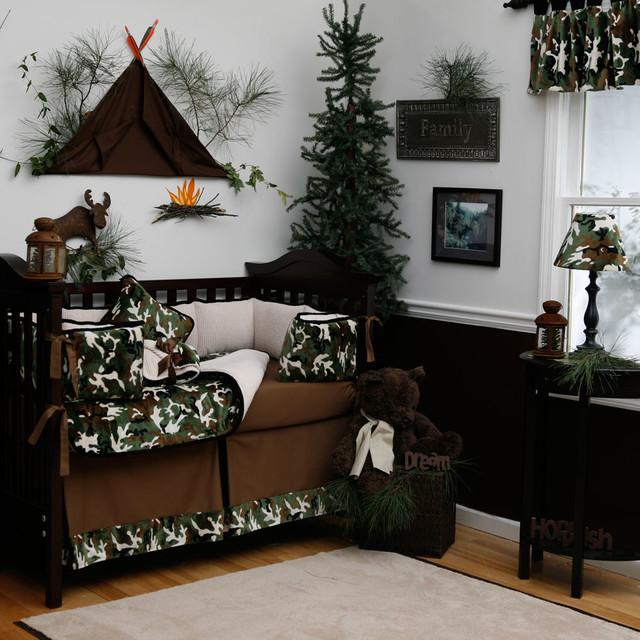 Camo Rooms Camo Boys Rooms And Camo Room Decor: Green Camo Crib Bedding