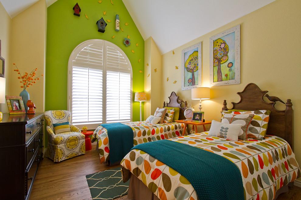 Elegant kids' bedroom photo in Denver