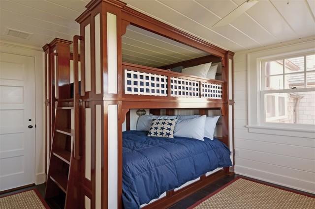 Custom Made Beds Image Gallery: Hamptons Custom Bunk Bed