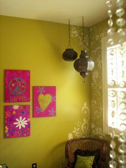 Hand-Painted Mehndi - Eclectic - Kids - Miami