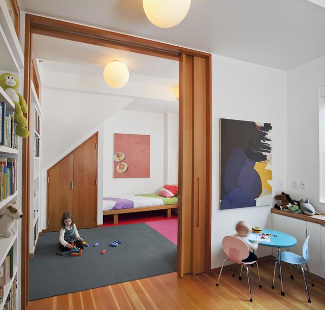 Harlem Residence Children's Room - Contemporary - Kids - New York - by Mabbott Seidel Architecture
