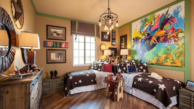 Hastings Farms Cowboy Kids Room - Rustic - Kids - Phoenix ...