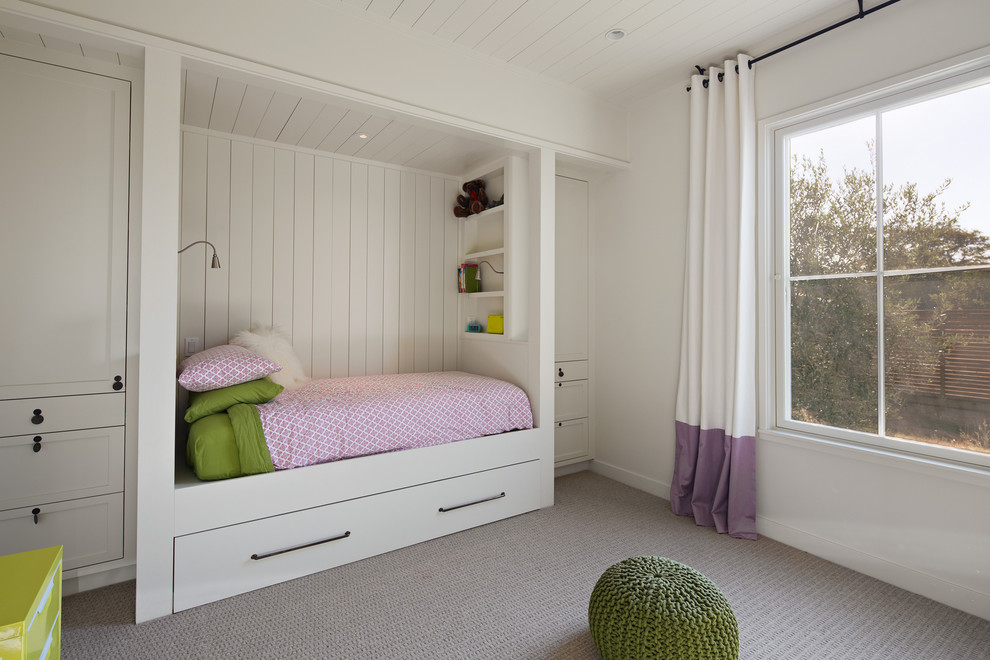 Example of a country kids' bedroom design in San Francisco