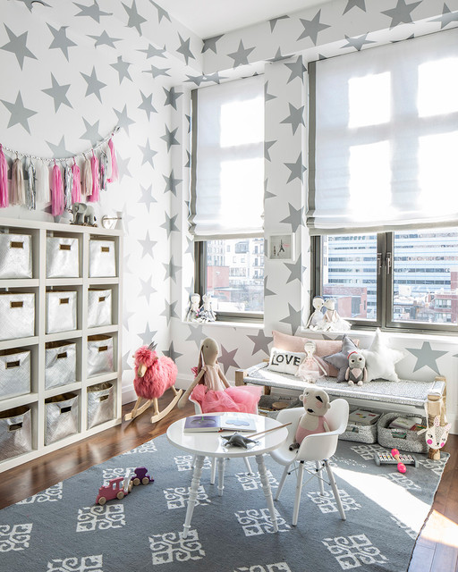 Hermione's Lucky Star Playroom contemporary-kids