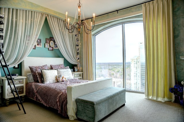 High Rise Living Eclectic Kids Atlanta By The